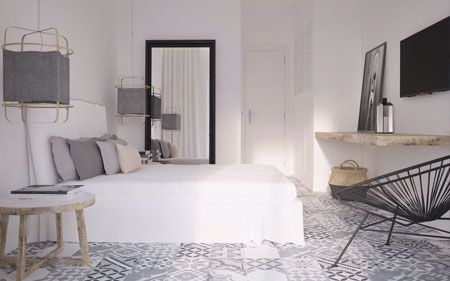 Boutique Hotel Kefalonia Double Room Side View featured